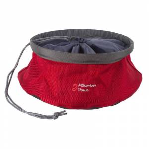 Mountain Paws Dog Food Bowl 210 mm red large