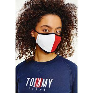 Tommy Hilfiger Tommy Jeans rouška dámská- bílá/červená Velikost: Jedna velikost