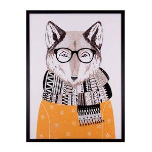 sømcasa Obraz sømcasa Wolf, 60 x 80 cm