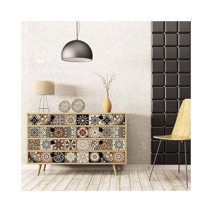 Ambiance Sada 30 samolepek na nábytek Ambiance Tiles Stickers For Furniture Cineloto Mento, 20 x 20 cm