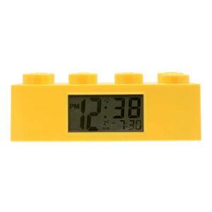 LEGO® Žluté hodiny s budíkem LEGO® Brick