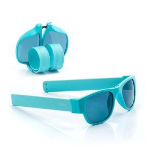 InnovaGoods Tyrkysové sluneční srolovatelné brýle InnovaGoods Sunfold PA4
