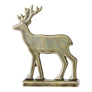 Bloomingville Kameninová soška soba Bloomingville Reindeer