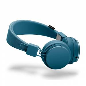 Urbanears Modrá sluchátka s mikrofonem Urbanears PLATTAN II Indigo