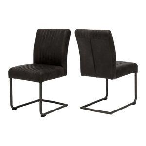 Canett Černá jídelní židle Canett Pitou Uriala