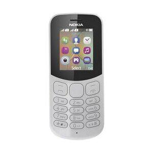 Nokia 130 mobilní telefon Dual SIM šedá