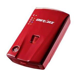 Qstarz GPS logger Qstarz BL-1000ST BL-1000ST, #####Personentracker, červená