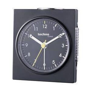 Techno Line Analogový budík Techno Line Geneva Q, 75 x 85 x 45 mm, černá