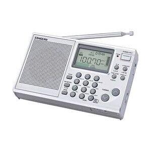 Sangean Světový radiopřijímač Sangean ATS-405 Package, stříbrná