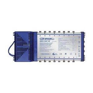 Spaun Rozdělovač satelitního signálu Spaun Light SMS 51607 NF Vstupy (vícenásobný spínač): 5 (4 SAT/1 terestrický) Počet účastníků: 16 Standby