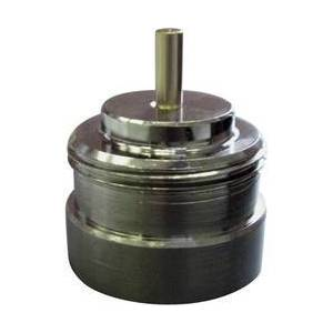 Conrad Mosazný adaptér termostatického ventilu Vama 700114 vhodný pro topné těleso Vama, M27 x 1,0