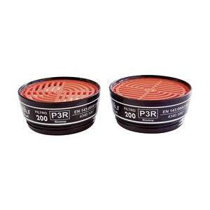 EKASTU Sekur Částicový filtr 200 P3R D EKASTU Sekur 422 395 Třída filtrace/Ochranné stupně: P3R D , 8 ks