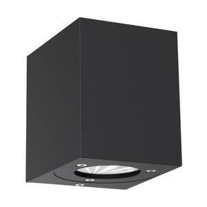 Nordlux Venkovní nástěnné LED osvětlení Nordlux Canto Kubi 77521003, 10 W, teplá bílá, černá