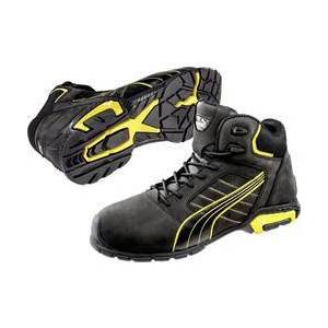 PUMA Safety Bezpečnostní obuv S3 PUMA Safety Amsterdam Mid 632240-42, vel.: 42, černá, žlutá, 1 pár