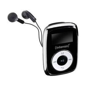 Intenso MP3 přehrávač Intenso Music Mover, 8 GB, upevňovací klip, černá
