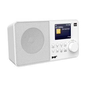 Dual Přenosné rádio Dual DAB 18 C, bílá