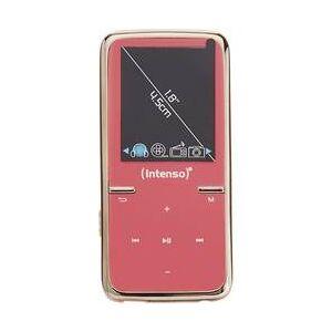 Intenso MP3 přehrávač, MP4 přehrávač Intenso Video Scooter, 8 GB, růžová