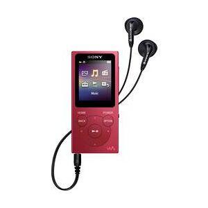 Sony MP3 přehrávač, MP4 přehrávač Sony Walkman® NW-E394R, 8 GB, červená