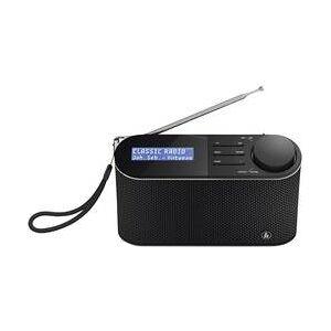 Hama Přenosné rádio Hama DR15, černá