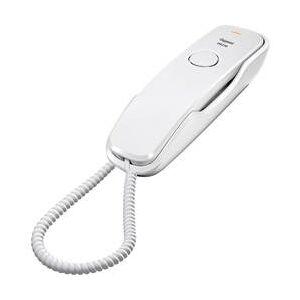 Gigaset Šňůrový telefon, analogový Gigaset DA210 bez displeje bílá