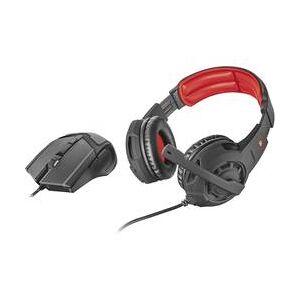 Trust GXT 784 herní headset na kabel přes uši, jack 3,5 mm, černá