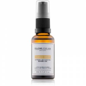 Fellows for Him Vanilla Cream olej na vousy natural 30 ml