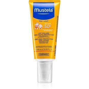 Mustela Solaires ochranné mléko pro děti SPF 50+ 200 ml