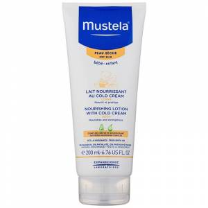Mustela Bébé Soin tělové mléko s obsahem Cold Cream 200 ml