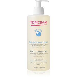 Topicrem BABY My 1st Cleansing Gel 2in1 mycí gel na tělo a vlasy pro děti od narození 500 ml