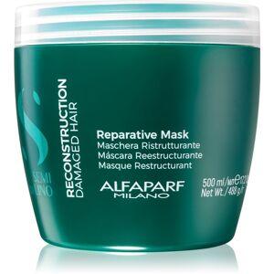 Alfaparf Milano Semi di Lino Reconstruction Reparative maska na vlasy pro poškozené vlasy 500 ml