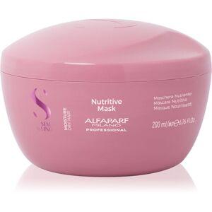 Alfaparf Milano Semi di Lino Moisture maska na vlasy pro suché vlasy 200 ml