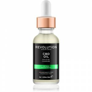 Revolution Skincare CBD Oil vyživující olej pro suchou pleť 30 ml