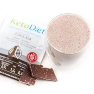 KetoDiet Proteinový nápoj čokoláda 7porcí