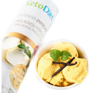 KetoDiet Proteinová zmrzlina s vanilkovou příchutí 20porcí