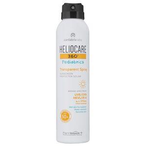 Heliocare 360° Pediatrics Transparent Spray SPF 50+, 200ml