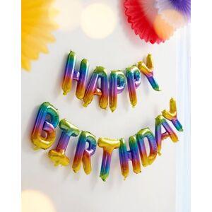SCHNEIDER Nafukovací nápis Happy Birthday