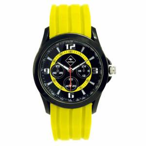 ROADSIGN Pánské náramkové hodinky Roadsign Perth R14012, žluté