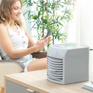 InnovaGoods Přenosná mini klimatizace s odpařováním a LED FreezyQ+