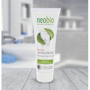 NEOBIO zubní pasta bez fluoridů, Vilín a Rozmarín, 75 ml