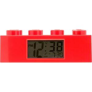 LEGO® Watch LEGO Brick Hodiny s budíkem Červená