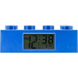 LEGO® Watch LEGO Brick Hodiny s budíkem modré