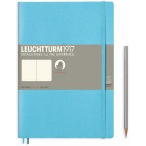 Leuchtturm1917 Zápisník Leuchtturm1917 Composition Softcover Ice Blue čistý