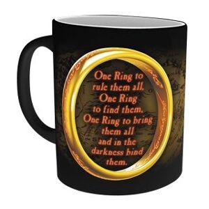 MagicBox Hrnek Lord of the Rings - Jeden prsten měníci se (295 ml)