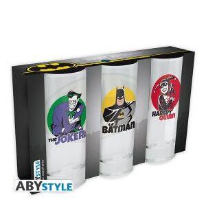 MagicBox Sklenice DC Comics set 3 ks