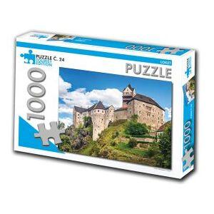 Puzzle Turistická edice Puzzle č. 24 - Loket - 1000 dílků