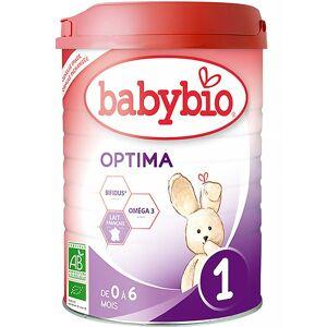 BABYBIO Optima 1 kojenecká výživa v prášku 900 g