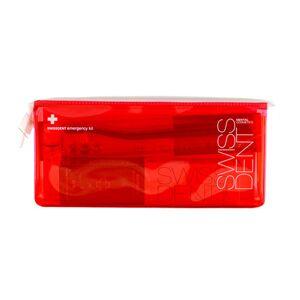 Swissdent sada RED (pasta 50 ml Extreme + spray 9 ml Extreme + kartáček whitening + taštička)