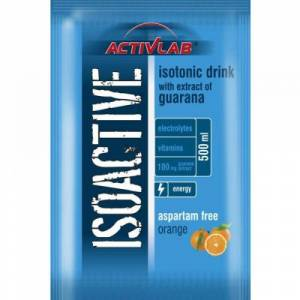 REGIS ActivLab Isoactive iontový nápoj s guaranou 20 sáčků pomeranč