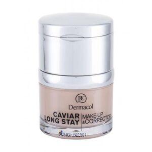 Dermacol Caviar Long Stay Make-Up & Corrector 30 ml make-up pro ženy 1 Pale