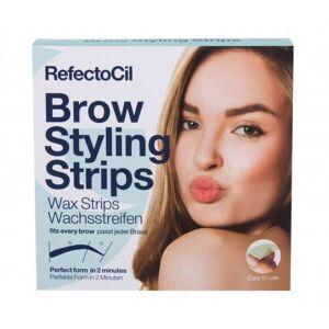 RefectoCil Brow Styling Strips 20 ks depilační přípravek pro ženy
